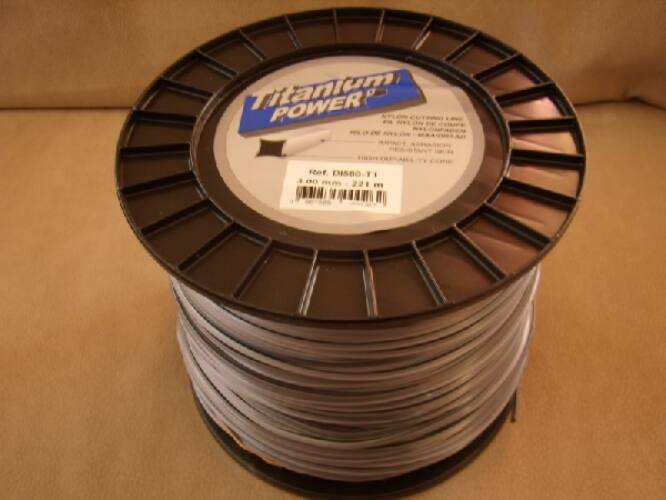 Titanium Power damil 3,0mm/221 m négyszög